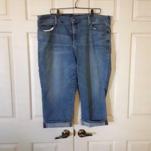 Designer NYDJ Marilyn Crop Jeans
